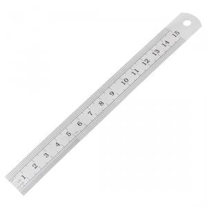 Kristeel Stainless Steel Measuring Ruler/Scale, BT1M-2, Size: 1000 mm