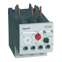 Legrand 3 Pole Contactors RTX³ 40 Integrated Auxiliary Contacts 1 NO + 1 NC, 4166 74