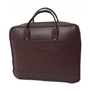 Apnav Brown PU Office Document Bag, AP-1852