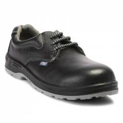 Allen Cooper AC 1143 Antistatic Black Safety Shoes, Size: 6