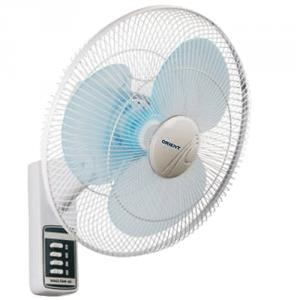 Orient Wall 41 Wall Fan 400mm, Colour: White