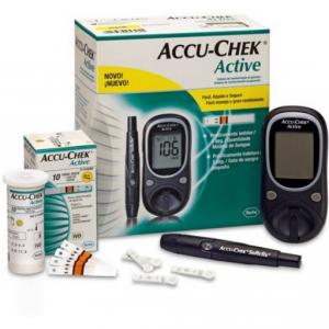 Accu-Chek Active Glucose Monitor With 10 Free Strips