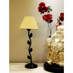 Tucasa Table Lamp with Square Shade, LG-125, Weight: 600 g