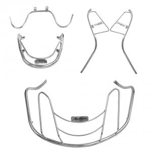 Ride Smart Stainless Steel Safety Guard Set for Honda Activa