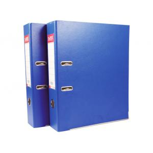Saya SY901 Royal Blue One side PVC Cover Lever Arch File Original, Weight: 4120 g (Pack of 10)