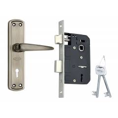 Spider Steel Mortice Key Lock Set, S811MAL + RML4
