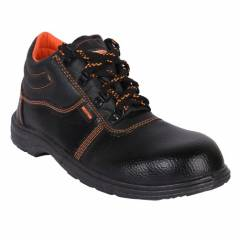 Hillson Beston Steel Toe Black Safety Shoes, Size: 11
