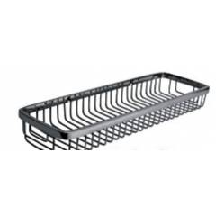 Bath Age Wire Basket Shelf, JAL 1603, Size: 4x10 Inch