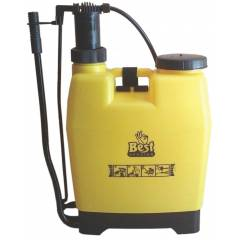 Best Sprayer NF-14 Yellow Knapsack HDPE Tank with 4 Nozzle Set Garden Sprayer, Capacity: 16 L