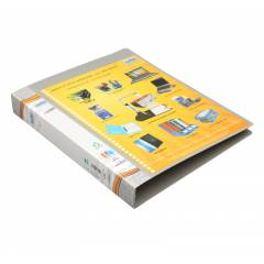 Solo Ring Binder 2-D-Ring with Front View Pocket, RB405, (Pack of 18)
