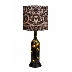 What Scrap Indian Art Table Lamp