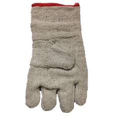 KT White Asbestos Safety Gloves for Heat (Pack of 10)