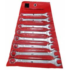 JCBL 1013 8 Pieces Combination Spanner Set