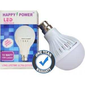 Happy 15W B-22 Cool White LED Bulb, HP-1015