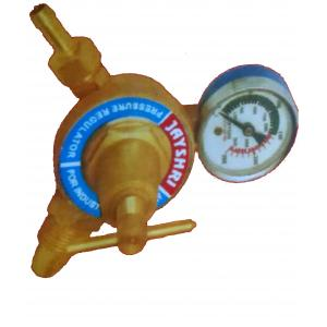 JayShri Single Stage Single Gauge Acetylene Regulator, Medium Weight