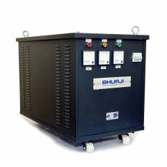 Bhurji 20kW 415V Delta 3 Phase AC Isolation Transformer Fitted In Cabinet with Wheel