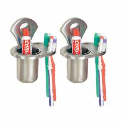 Doyours Dnarm Series 2 Pieces Tooth Brush Holder Set, DY-0229