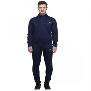 Abloom 144 Navy Blue & Red Tracksuit, Size: XXL