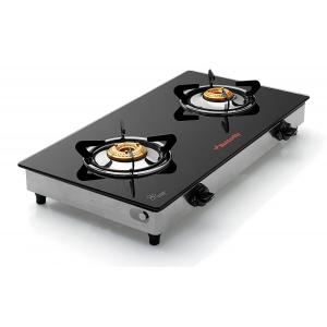 Butterfly Grand 2 Burner Glass Top Gas Stove