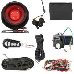 Black Cat Car Central Locking Remote System Alarm Siren Bsa 4d