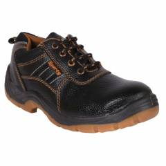 Hillson Sporty Steel Toe Black Safety Shoes, Size: 6