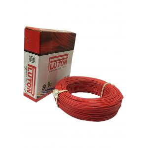 Pluton 4 Sq mm Red PVC Insulated Wire