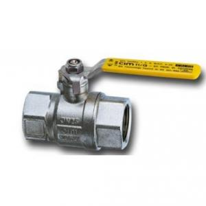 CIM 11G Gas Ball Valve with British Gas Approved, Size: 10 mm