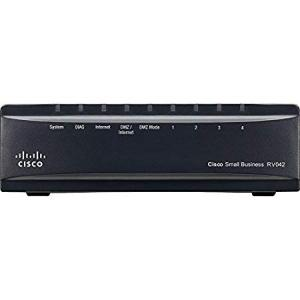 Cisco 4 Port Dual Gigabit WAN VPN Router, RV042