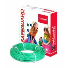 Goldmedal 90m 4 Sq mm Green FR PVC Wire