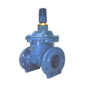 Divine C.I. Double Gland Hatter Sly Pattern Sluice Gate Valve, Size: 6 in