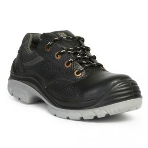 Hillson Nucleus Steel Toe Black Safety Shoes, Size: 6