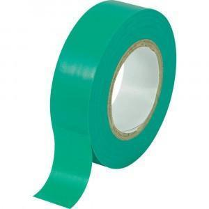 LTD 7mx18mmx0.125mm Green Electrical Insulation Tape (Pack of 30)
