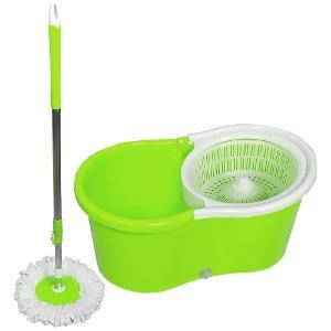 Ave 360 Degree Spin Rotating Green Cleaning Mop