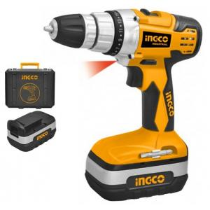 Ingco 1400rpm Industrial Cordless Drill, CDT218180