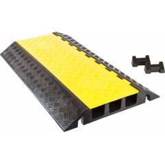 KT Yellow and Black 3 Channel Cable Protector