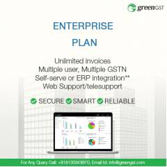 GreenGST Enterprise Pack For Unlimited Invoices Per Annum