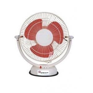 Sky Power 12-15W Red Table Fan, Speed: 1200-1600 rpm