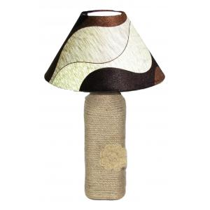 Aadhya Creations BL Shades of Brown Table Lamp, AC13BL016