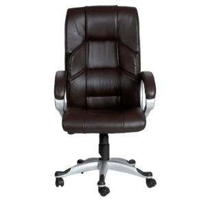 VJ Mariposa Executive High Back Chair, Color: Chair Brown