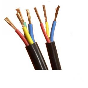 RISTACAB 100m PVC Insulated Sheathed 4 Core Copper Cable, 2.5 Sqmm