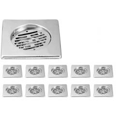 Kamal Ring Trap Square 6x6 (Slice), GRT-1428-S10 (Pack of 10)