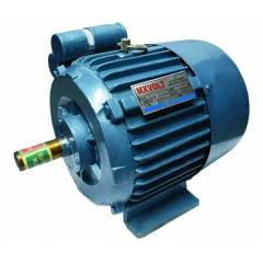 MXVOLT 1.5 HP 4 Pole Single Phase Foot Mounted FHP Induction Motor
