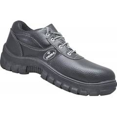 Prima EON Plus Steel Toe Black Safety Shoes, Size: 8