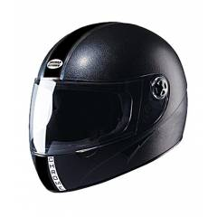 Studds Chrome Economy Black Full Face Helmet, Size (Large, 580 mm)