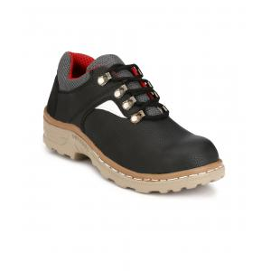 Vmax Charcoal-002 Steel Toe Safety Shoes, Size: 9