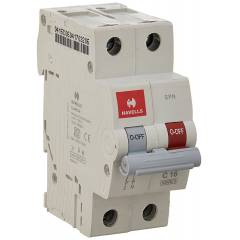Havells EURO-II 50A C Curve SP MCB, DHMGCSNF050 (Pack of 6)