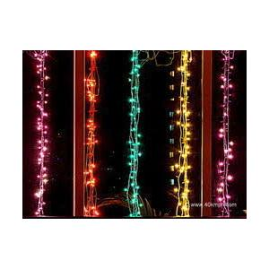 Evergreen 5m Multicolor Diwali LED Rice Light  (Pack of 2)