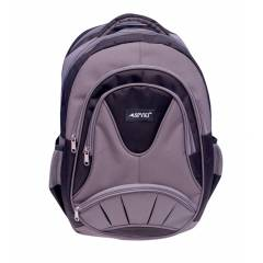 SPYKI PJ11 Grey Smart and Specious Polyester Laptop Backpack