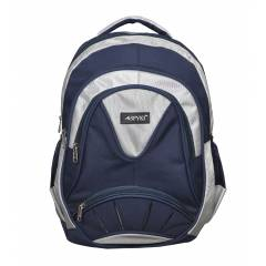 SPYKI PJ66 Blue Smart and Specious Polyester Laptop Backpack