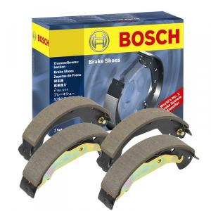 Bosch Rear Brake Shoe For Toyota Qualis, F002H236678F8 (Pack of 4)